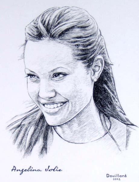 Angelina Jolie par Douillard